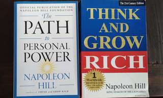 Napoleon Hill books