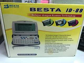 Besta ID-89  Dictionary