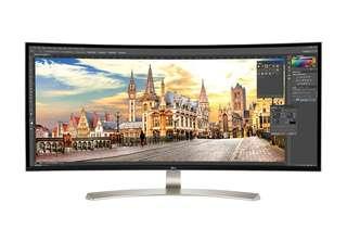 LG 38吋 21:9 UltraWide 弧形顯示器 Curved Monitor
