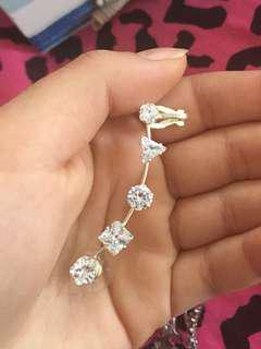 Earring piece chain