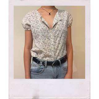 Retro 70s button up shirt ✨