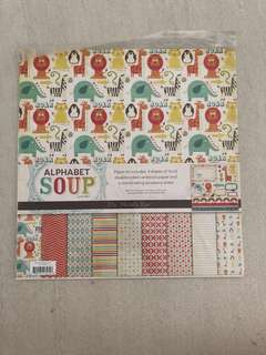My Mind's Eye Alphabet Soup Paper Kit