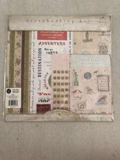 Scrapbooking Kit - Travel