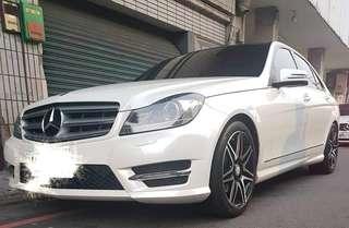 2013年Benz c250 plus 跑5萬