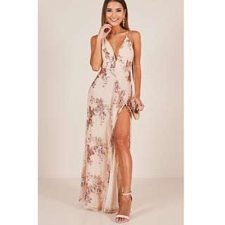 Zalia Prom Sequin Mermaid Dress