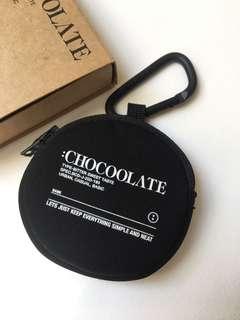 CHOCOOLATE 黑色小物包/散銀包