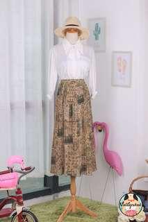 🍿 Vintage Midi Skirt VS1428