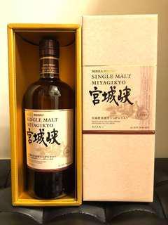 日本威士忌 - 🈹宮城峽 Single Malt Miyagikyo (700ml) with Box