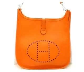 hermes evelyne 1pm orange ( FOR.RECOLOR )