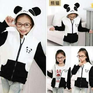 SD: Panda Jacket For Kids Fit 3-7 Yrs. Old