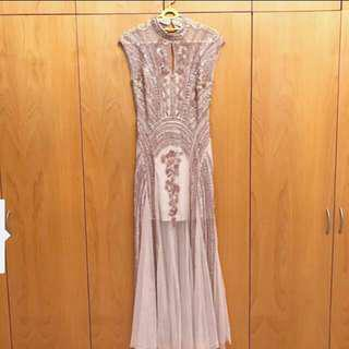(For rent)Miss selfridge embellished evening dress