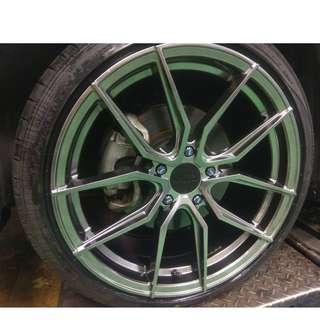 蕭條月6月限定促銷 XXR559.555.527 + 馬牌輪胎 MC6 225/40/18 勁爆完工現金價 升級好時機