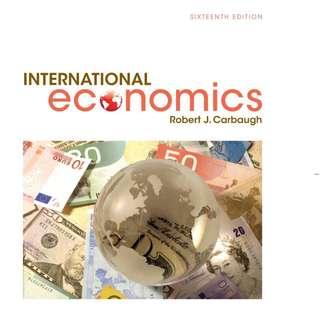 Economics of Globalisation (ECON113)