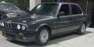 1988年 Bmw e30 318 原廠手 跑14萬 5速