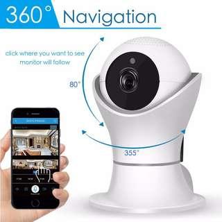 🚚 1080P HD Video Panoramic wireless wifi ip Camera 360 Degree CCTV home Security Camera