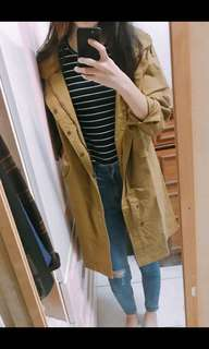 🚚 Pazzo 芥黃色風衣