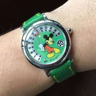 Gerald Genta Fantasy Automatic Mickey Mouse. Mint!