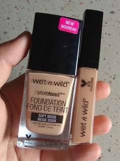 Wet&Wild Foundation+Concealer