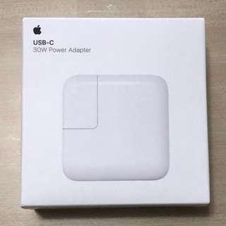 Apple 30W USB‑C 電源轉換器
