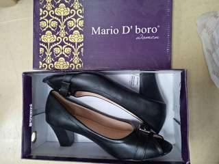 Mario D' Boro black shoes size 40