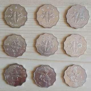 大量1997年出特別圖案港幣 old coins