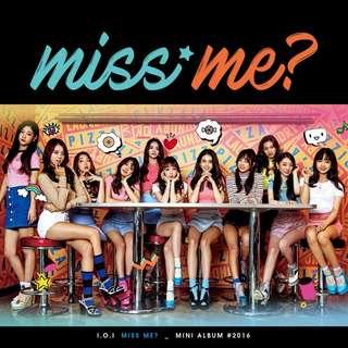 [Pre-Order] I.O.I 아이오아이 SECOND MINI ALBUM 2ND 미니앨범 - MISS ME? (REISSUED 재발매)