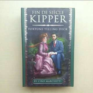 [LARGE DISCOUNT] Fin de Siecle Kipper Divnation Deck BY Ciro Marchetti, UNSEALED Deck, Gorgeous Fortune-Telling Cards