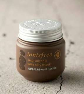 Jeju Volcanic Pore Clay Mask - Innisfree 100ml