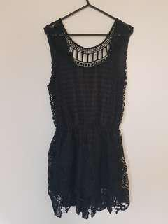 BNWT Lace Playsuit
