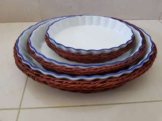 Microwave cookware oval tray