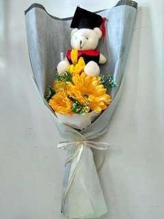 Graduation bouquet (artificial flower)