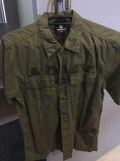 Fingercroxx Army Polo Medium slightly used