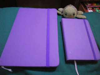 Hardbound notebook set