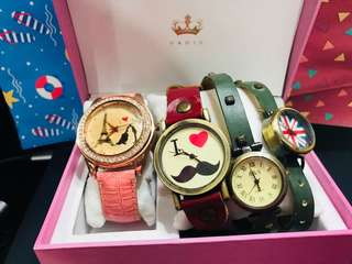 BUY 3 WATCHES GET 50 PESOS OFF!