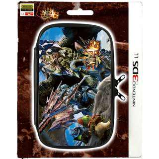 MONSTER HUNTER 4G POUCH FOR 3DS LL / XL - BRAND NEW