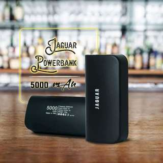 "Jaguar Powerbank 5,000 MAH ""Order now available now"" Well sealed with 4 months warranty"