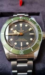 """Tudor Harrods Black Bay """"Green"""""""