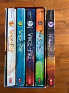 Wings of Fire Book 1-5