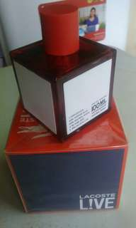 Authentic Lacoste Live Perfume
