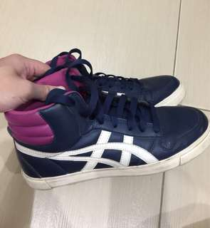 Onitsuka Tiger highcut rubber shoes
