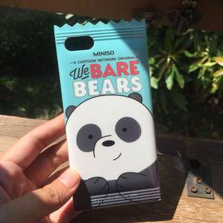 Miniso we bare bears case original iphone 7/8