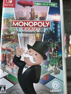 Nintendo switch - Monopoly Game