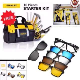 2 SET PROMO❗️STANLEY TOOLS and 5-1 MAGNETIC SUNGLASSES ‼️