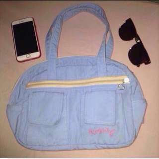 Heartstring Blue Bag