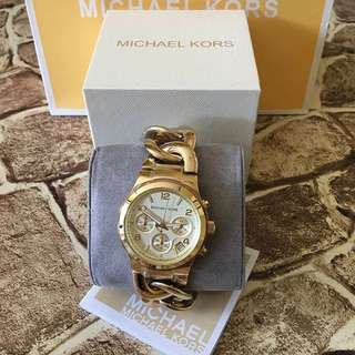 MK TWISTED AUTHENTIC WATCH