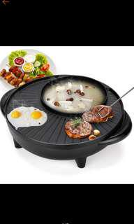 Korean multi-function hotpot and grill