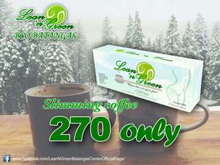 Organic slimming coffee