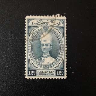 Kelantan  1937 stamp