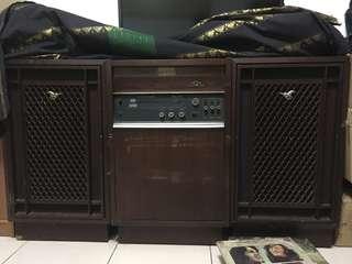 古董音響 台灣白馬牌 唱片機