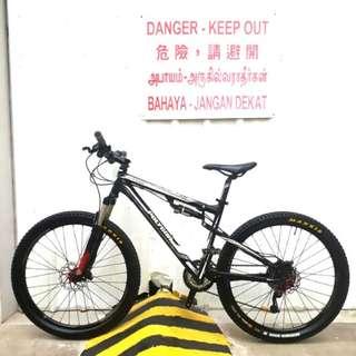 26er Polygon Vander 3.0 Full AIR Suspension Mountain Bike